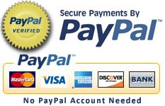 Pay by card via PayPal without an account!